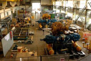 Сборка компрессорных установок