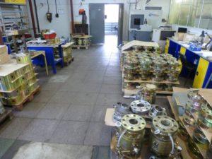 Производство запорной арматуры